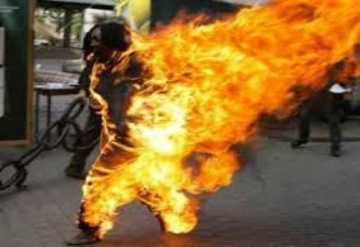 SO SAD! Man Sets Wife Ablaze For Giving Birth To Only Female Children