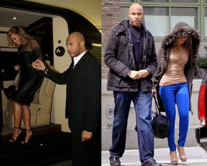 Her Bodyguard Is Beyonce Having A Secrete Affair with her bodyguard Julius Photos