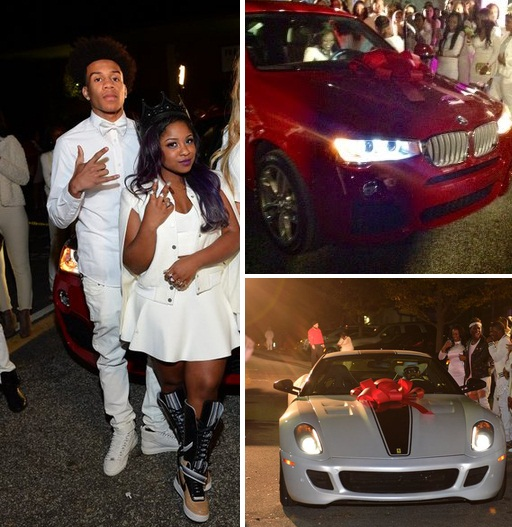 Super Sweet 16! Lil Wayne's daughter Reginae gets a BMW X6 ...