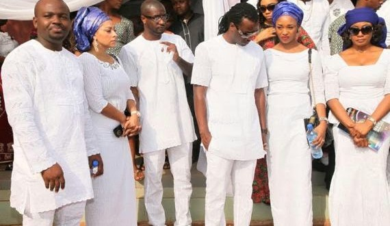 official photos from p square s fathers burial in anambra