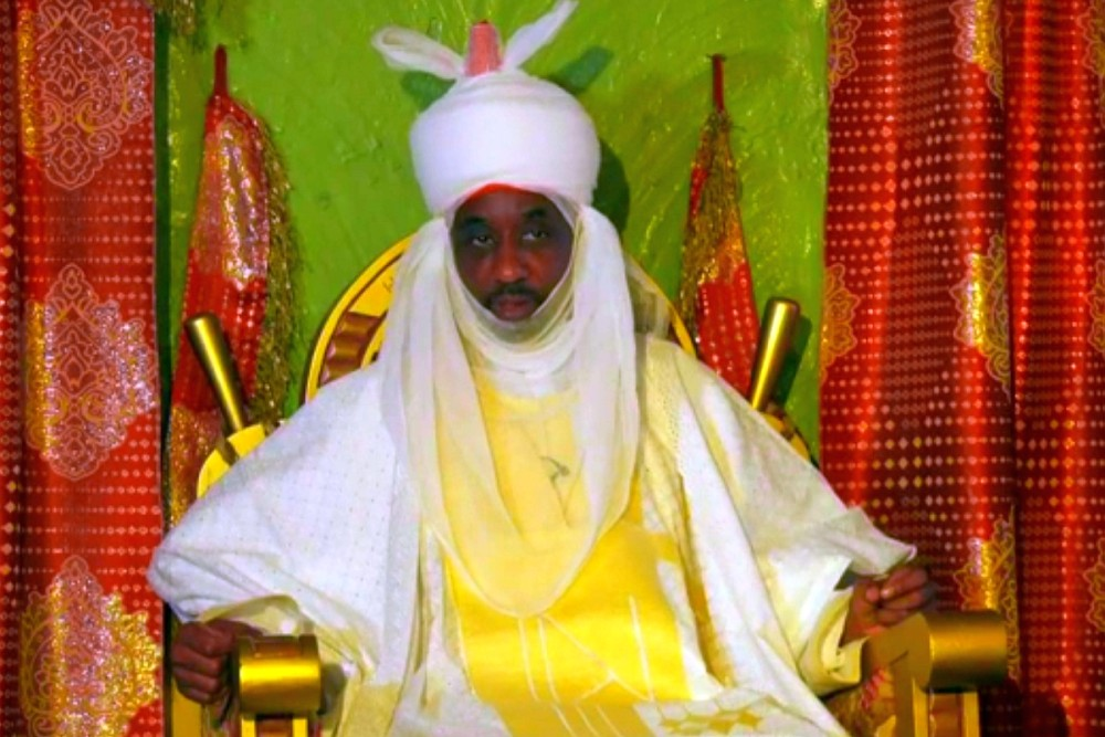Emir Of Kano State Sanusi Set To Ban Polygamy, Says There's A Connection Between It, Poverty & Terrorism