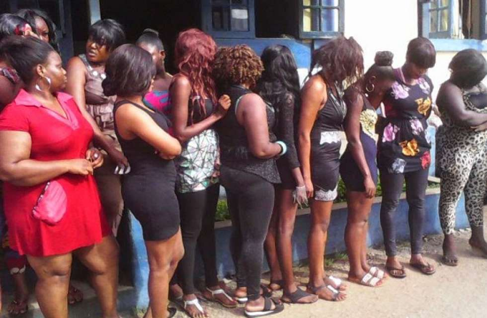 Sex Workers In Port Harcourt Brothel Protest Against Manager's Plan To Host Vigil After Pastor Claims It Will Prosper Their Busines