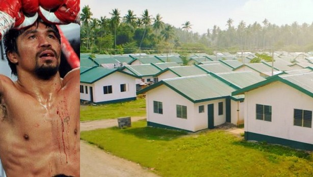 Manny-Pacquiao-Builds-Houses-For-The-Poor