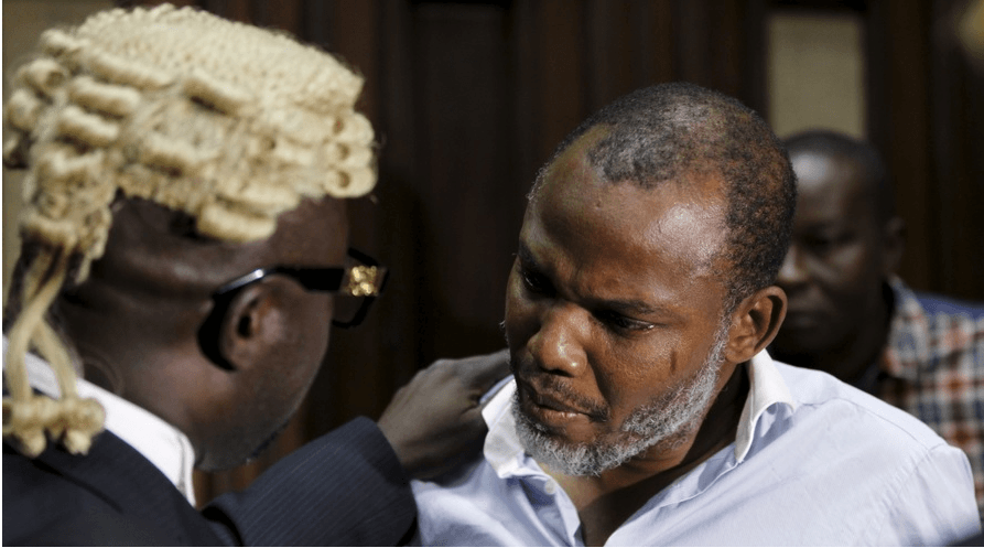 Breaking News: Nnamdi Kanu released from prison