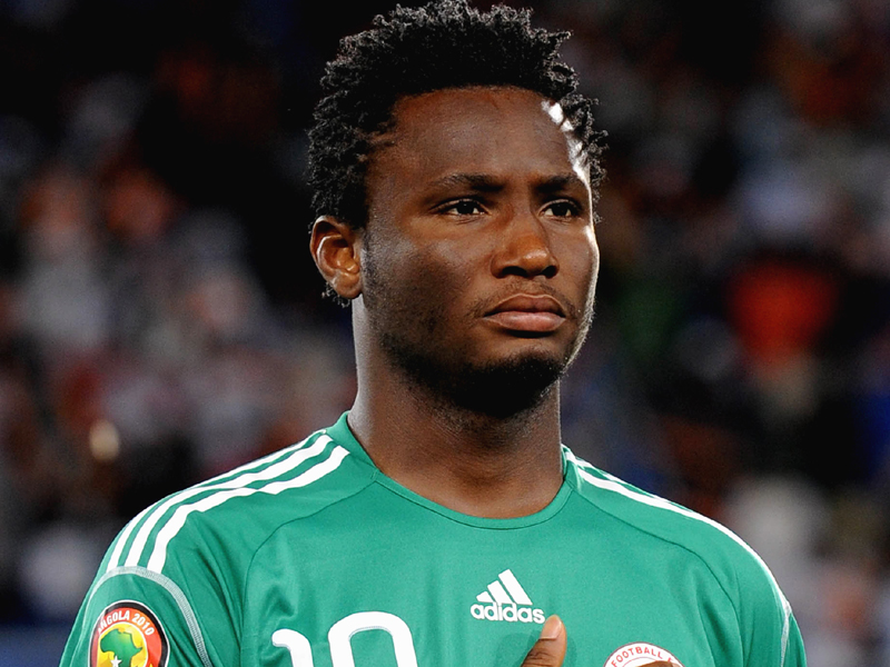 LUBANGO, ANGOLA - JANUARY 25:  John Obi Mikel of Nigeria during the Africa Cup of Nations Quarter Final match between Zambia and Nigeria from the Alto da Chela Stadium on January 25, 2010 in Lubango, Angola. (Photo by Lefty Shivambu/Gallo Images/Getty Images) *** Local Caption *** John Obi Mikel