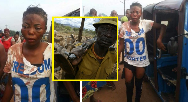 girl who was abducted for rituals rescued by hausa men