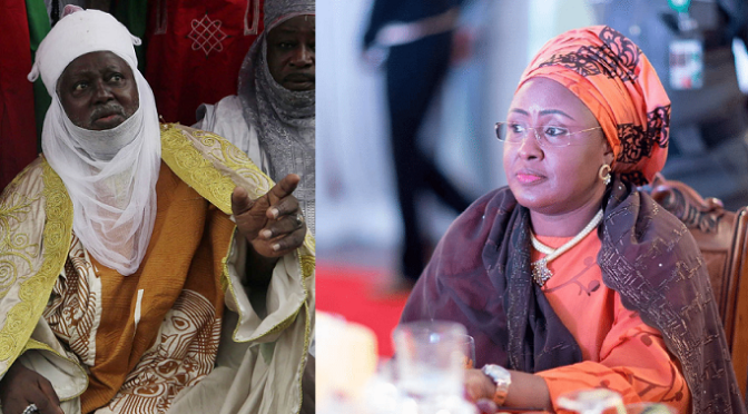 "Muslim Cleric Wants Security Agencies To ""Immediately"" Arrest Aisha Buhari Over BBC Interview"