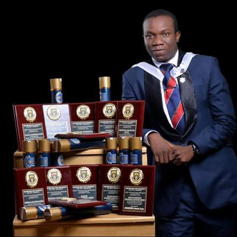 Image result for Adeolu, OAU's Best Graduating Student