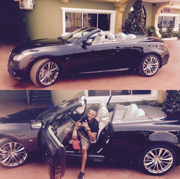 Denilson Igwe Of Mark Angel Comedy Series Buys A Brand New Car