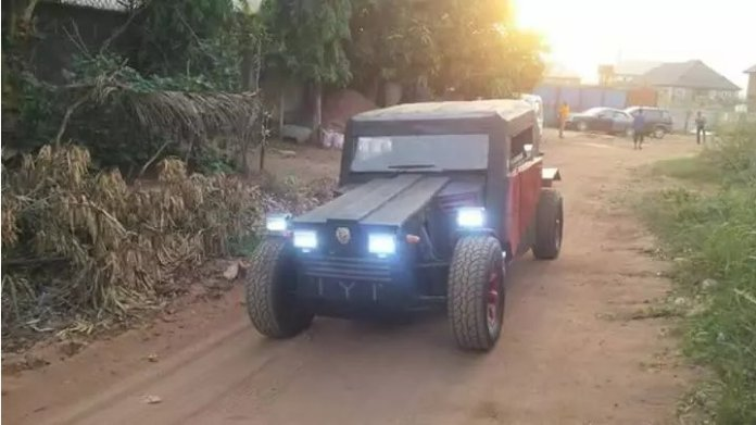 Meet man that manufactures car in Imo state (PHOTOS)