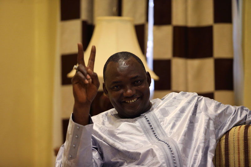 GAMBIAN PRESIDENT-ELECT, BARROW'S 8 YEAR OLD SON KILLED BY DOG