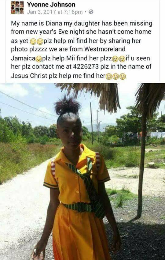 Photos: 16year Old School Girl Missing For 4 Days Found Stark Naked On Facebook (Must See)