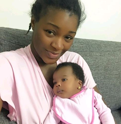 See Adorable Photo Of Chacha Eke And Her 2nd Daughter