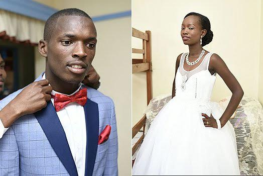 Beautiful Photos From The Luxurious Valentine's Day Wedding Reception For Kenyan Couple Who Had A Low Budget Wedding