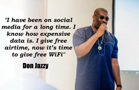 """I Know How Expensive Data Is"" – Don Jazzy Launches Free Wifi In Lagos"