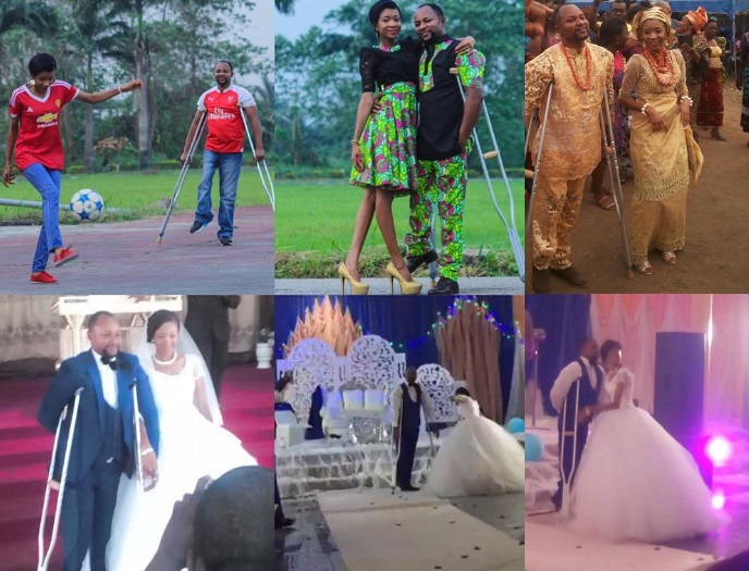 Photos: Popular OAP Ufuoma Egbamuno Walks Down The Aisle With His Other Half Chizzy