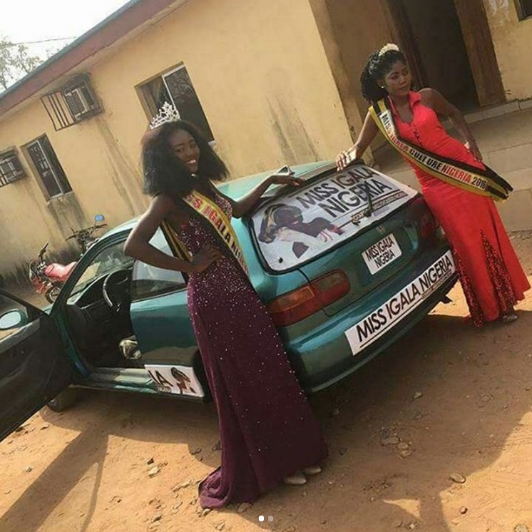 Photos: Come And See The Car They Give This Nigerian Beauty Pageant Winner