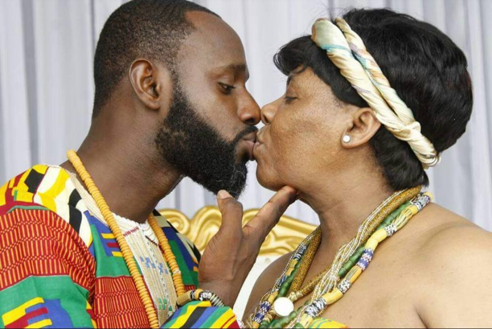Photos: Guy Weds His Mothers Age Mate