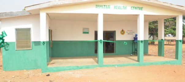 Photos: Youth Corper Renovates A Dilapidated Health Centre That Had Been Abandoned For 2 Years In Kwara State Where He Was Posted (Must See)
