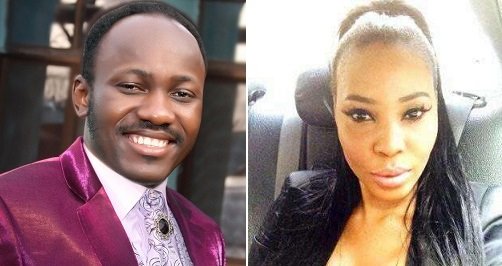 Apostle Suleiman In S.ex Scandal, Dumps Pregnant Canadian Lover, Gets Her Detained In Lagos