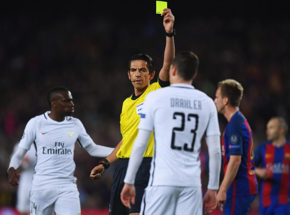 Barcelona Vs Paris Saint-Germain Ref Deniz Aytekin Could Be Demoted For His Display