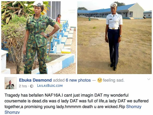 Photos: Pretty Nigerian Airforce Personnel Shot Dead By Jealous Colleague/Boyfriend Today In Makurdi (Graphic)