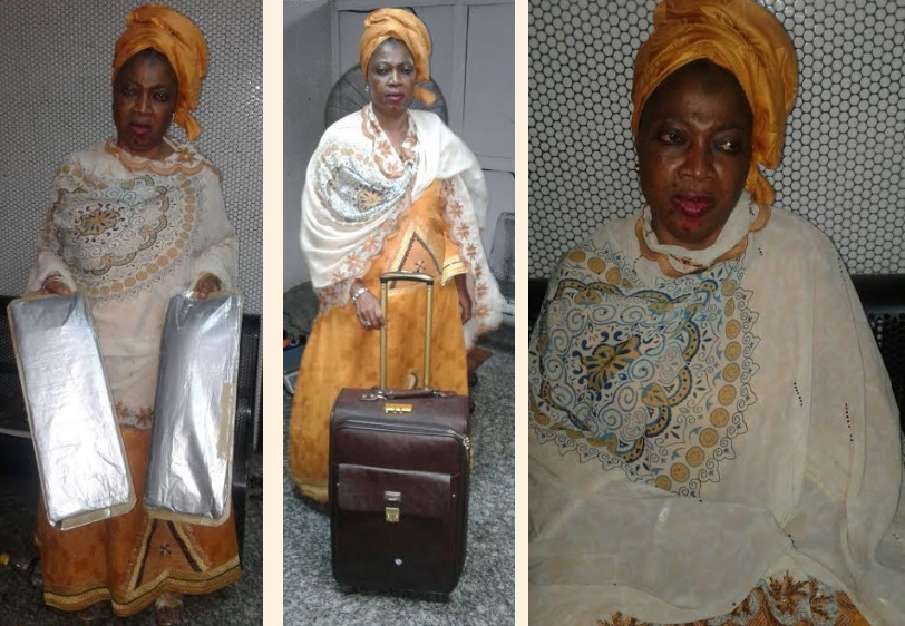THE HUSTLE IS REAL!!!!! Grand ma caught with Cocaine while Pilgrimage to Saudi Arabia.