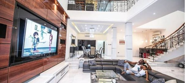 Photos: The Okoye Brother's Peter, Paul And Jude Build 3 Massive Mansions (See Interiors)