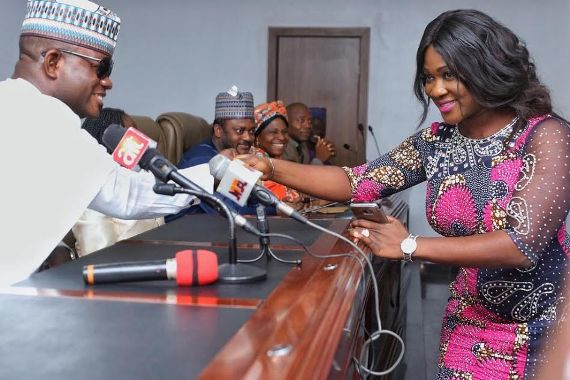 Image result for Mercy Johnson Inaugurated Into Kogi Government Today