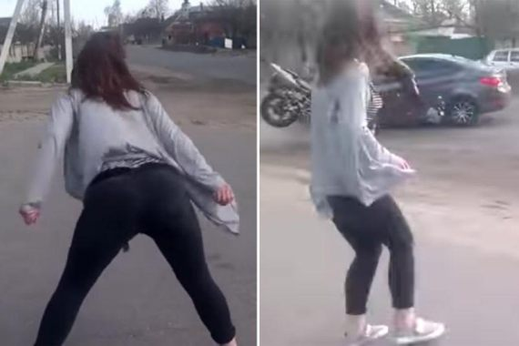Video & Photos: Lady Twerking On The Road Causes Major Ghastly Accident (Must See)