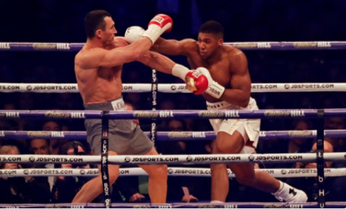 Anthony Joshua vs Wladimir Klitschko: follow live updates round by round