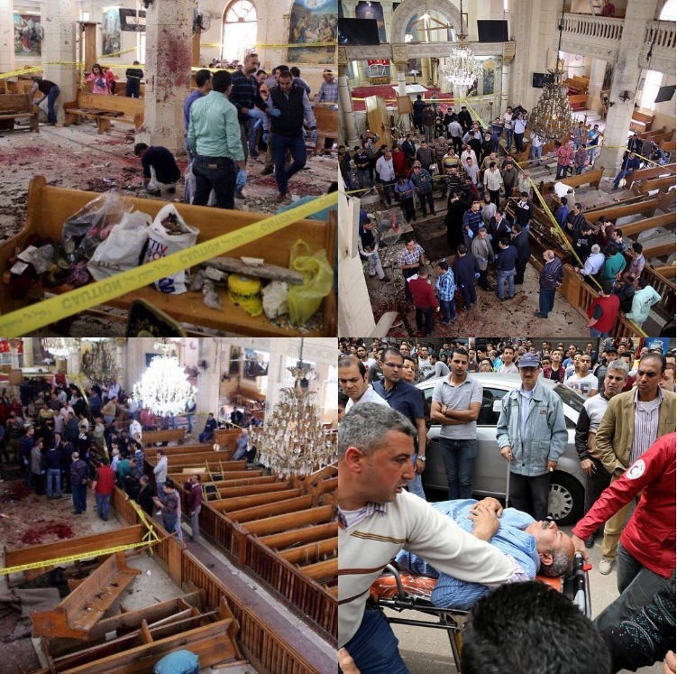 36 killed, Over 100 Injured After ISIS Bombed 2 Churches During Palm Sunday In Egypt