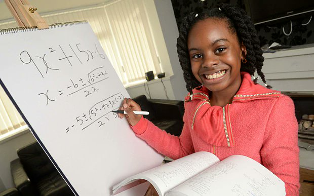 Meet Esther Okade, A 13-Year-Old College Genius Who Is Set To Earn Her PhD By 2018