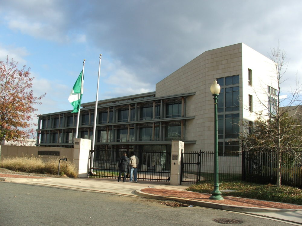 Nigerian Embassy In Washington Shut Down