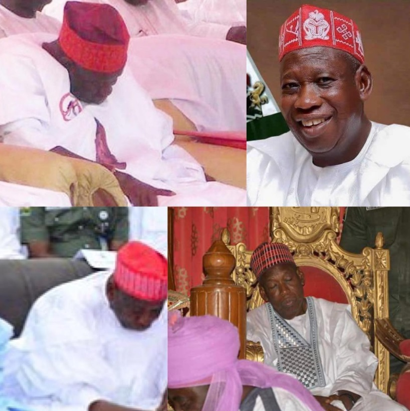 """I Don't Sleep At Public Functions, I Only Pretend"" – Kano Governor Ganduje"