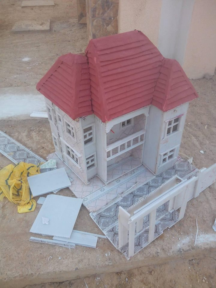 kano2 - Photos: Nigerian Boy From Kano Makes World Class Architecture Designs