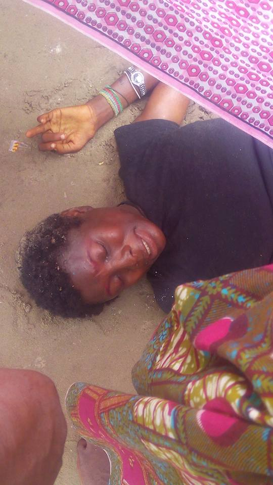 mad1 - Mentally Challenged Woman Delivers A Beautiful Baby Girl In Rivers State
