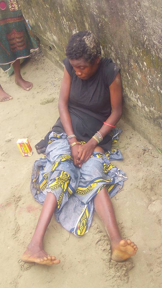 mad2 - Mentally Challenged Woman Delivers A Beautiful Baby Girl In Rivers State