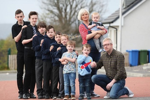 Mum Of Nine Sons Is Pregnant Again And She's Having Yet Another Boy