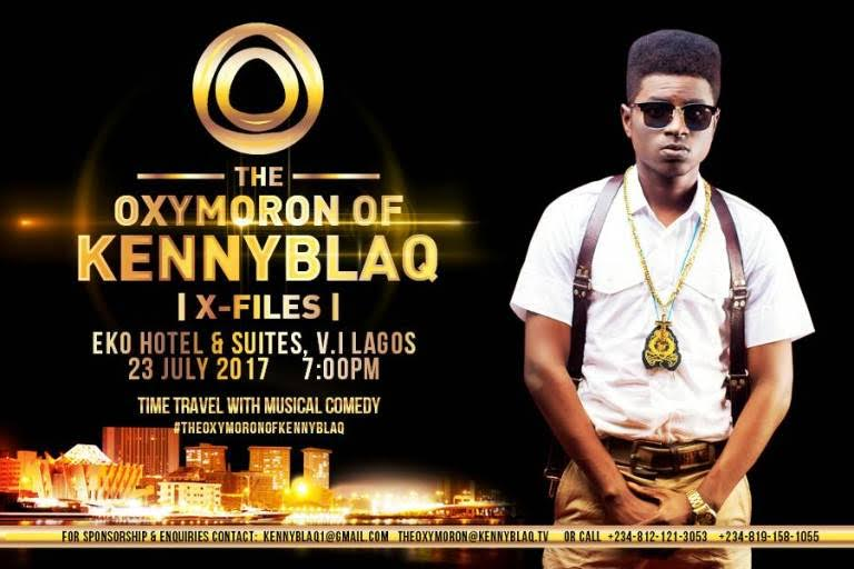 Comedian Kenny Blaq Gears Up for Debut Upcoming Show Titled 'The Oxymoron Of Kenny Blaq'