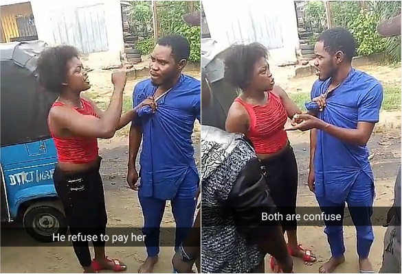 Man disgraced publicly over failure to pay 'prostitute' after service (Photos)