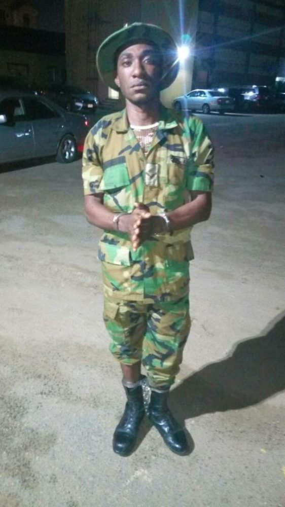 Photos: Police Arrest Nigerian Soldier Who Assisted Evans In Kidnapping His Victims
