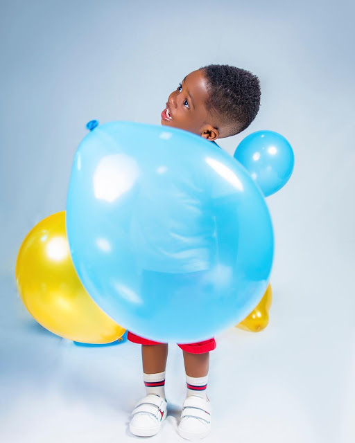 Tiwa Savage Shares Lovely Photos Of Son Jamil As He Turns 2