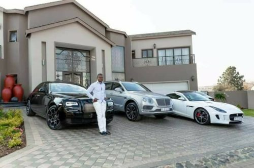 Photos: Popular Pastor, Prophet Shepherd Bushiri Of Zambia Buys $2Million Mansion And A Fleet Of Luxury Exotic Cars (Must See)