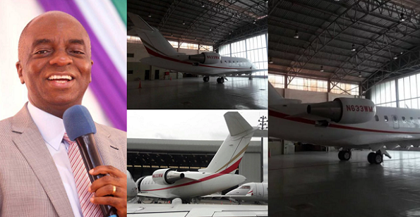 Image result for Bishop Oyedepo Buys New Aircraft