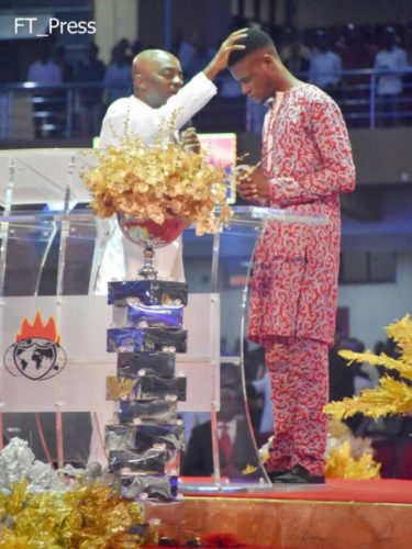 Nigerian Man Pronounced Dead By 4 Hospitals, Resurrected By Pastor Oyedepo's Prophetic Mantle (Photos)